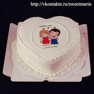 """Акция! Торт """"Любовь-это"""" 1 кг"""