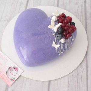 "Акция! Торт ""Сердце в глазури"" 1 кг"