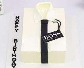 Торт рубашка