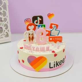 """Торт """"Социальные сети"""""""