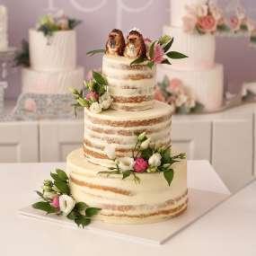 "Торт ""Лесная свадьба"""