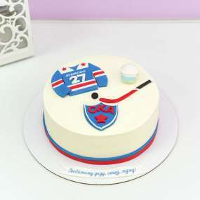 Белый торт СКА