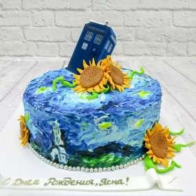 Торт Доктор Кто