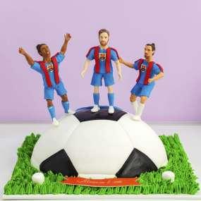 Торт футбольная команда