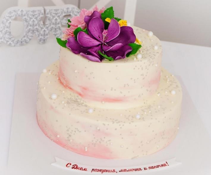 "Торт ""Цветок Марсала"""