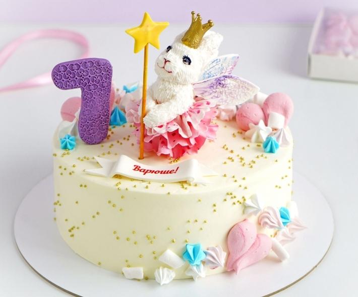 """Торт """"Зайка с волшебной палочкой"""""""