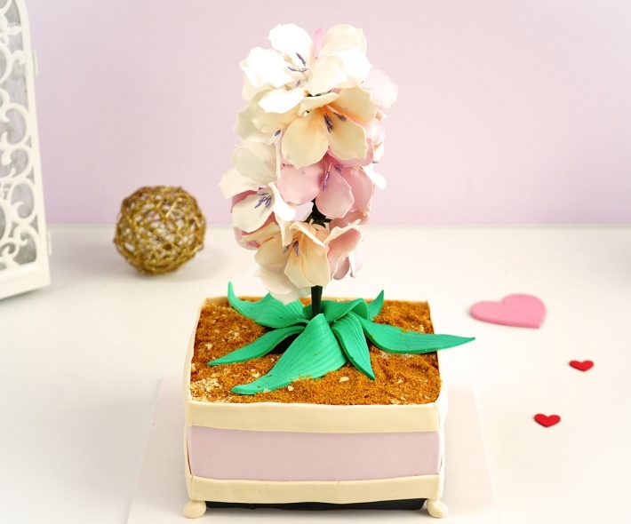 """Торт """"Орхидея"""""""