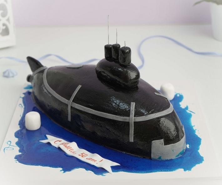 "Торт ""Подводная лодка"""