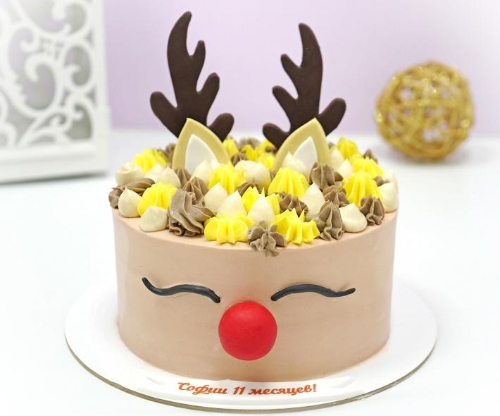 """Торт """"Олень"""""""