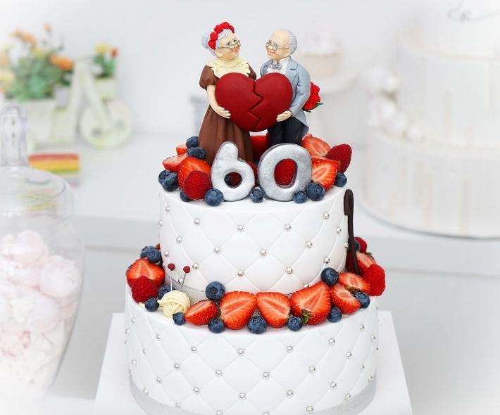 "Торт ""С бабушкой и дедушкой"""