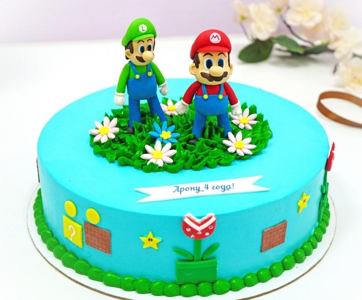 "Торт ""Герои Марио"""