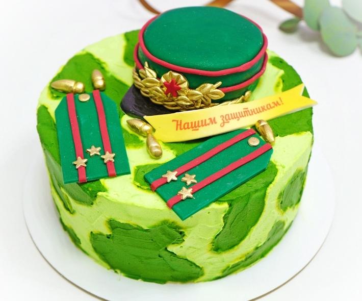 """Торт """"С фуражкой"""""""