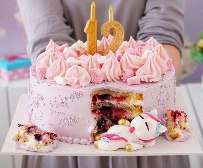 """Торт """"Сытый единорожка"""""""