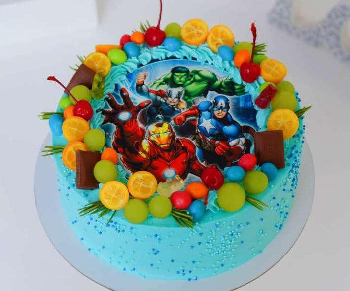 "Торт ""Мстители Марвел"""