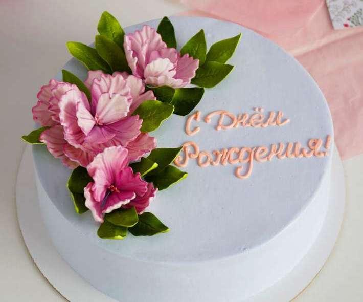 """Торт """"Летние цветы"""""""