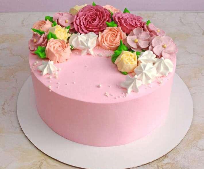 "Торт ""Цветущий сад"""
