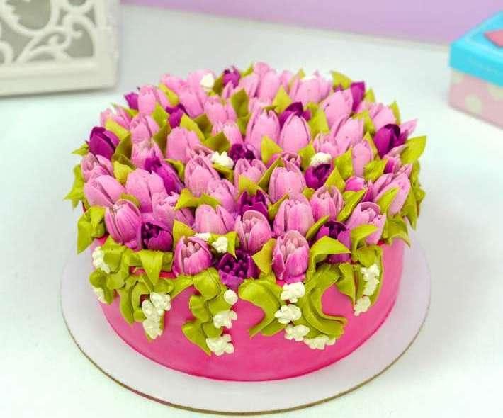 """Торт """"Голландские тюльпаны"""""""