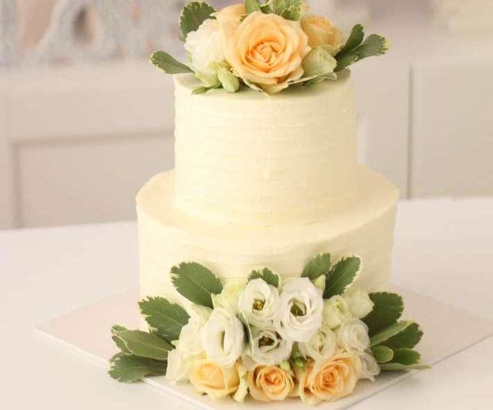 """Торт """"Живые розы"""""""
