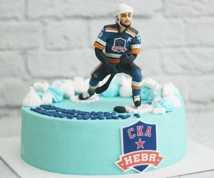 "Торт ""Хоккеист СКА"""