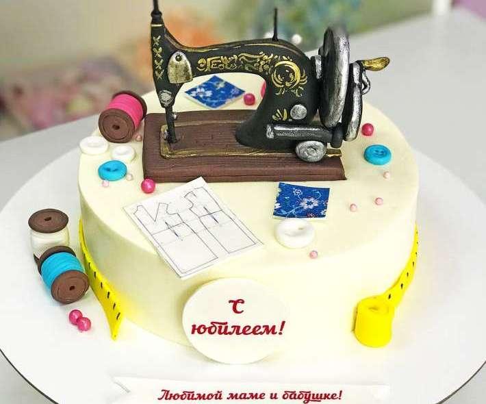 "Торт ""Рукодельница"""