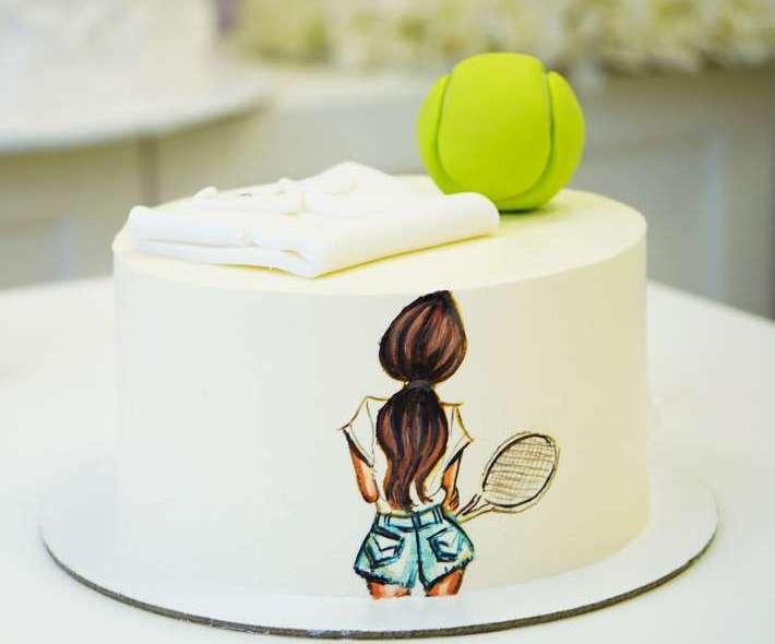 "Торт ""Для теннисистки"""