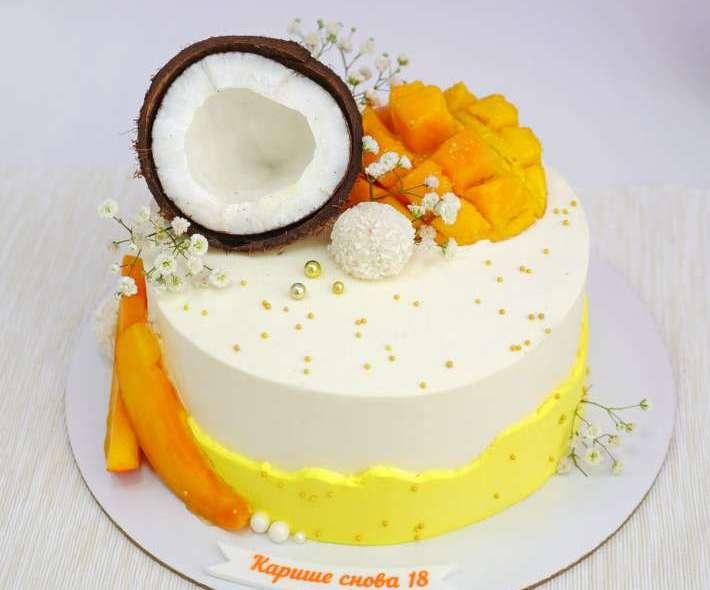 """Торт """"Тропический праздник"""""""