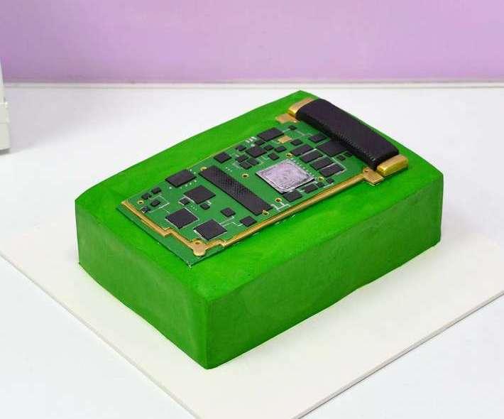 Зеленый торт микросхема