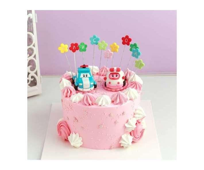 Торт Робокары