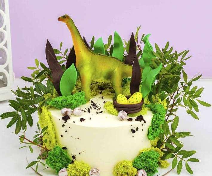 """Торт """"Добрый динозавр"""""""