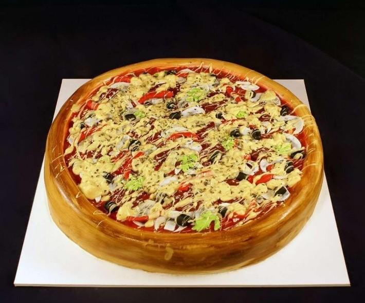Торт «Пицца»
