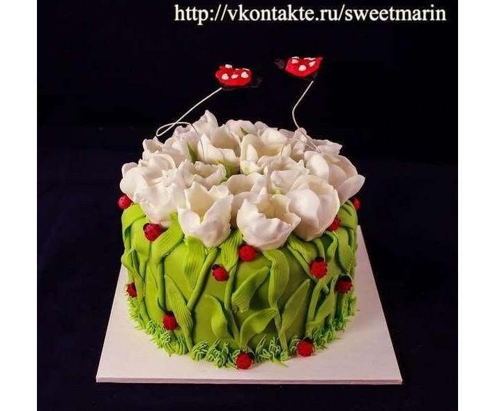 "Торт ""Начало весны"""