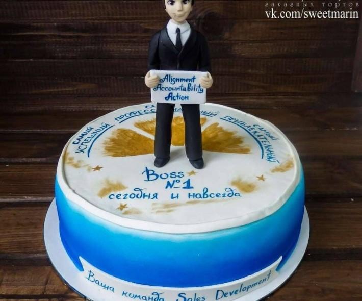 "Торт ""Для босса"""