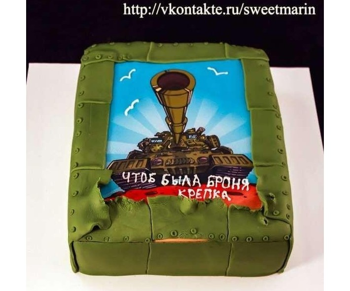 Торт «Броня»