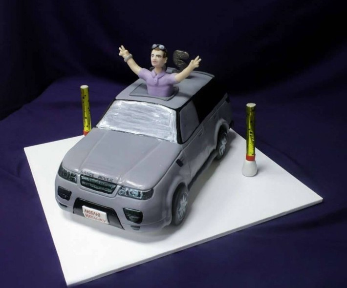 """Торт """"Range Rover"""""""