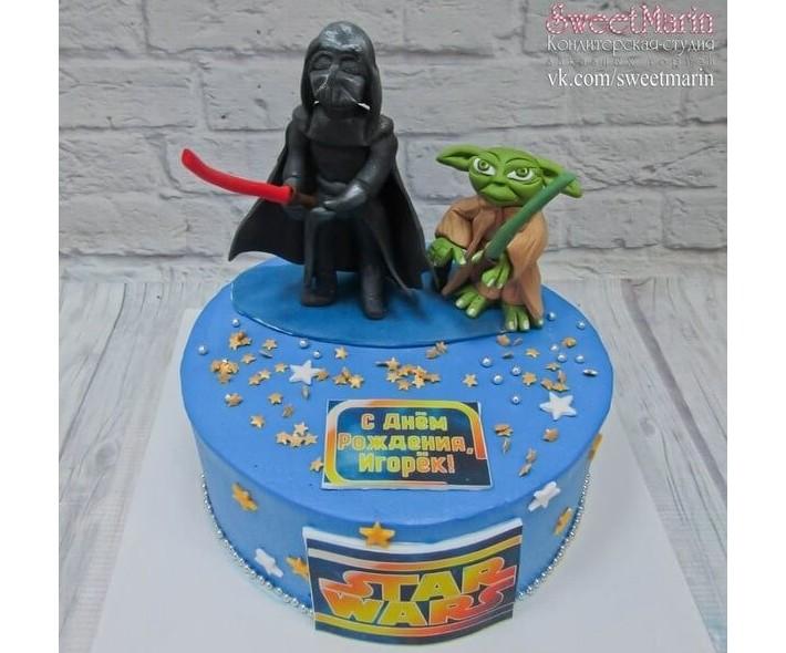 """Торт """" Звездные войны"""""""