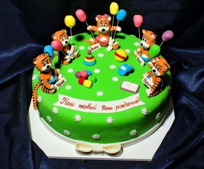 """Торт """"Тигрята"""""""