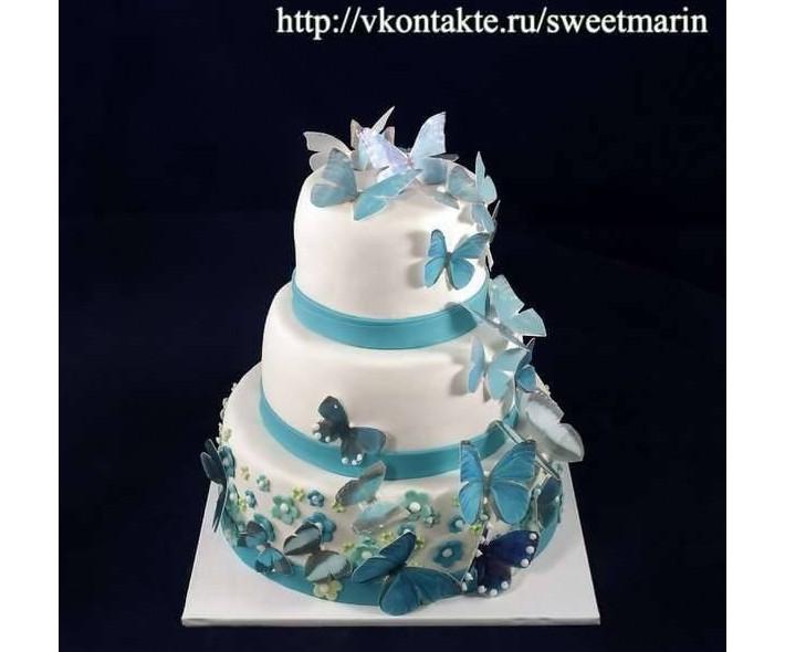 """Торт """"Свадебный полет"""""""