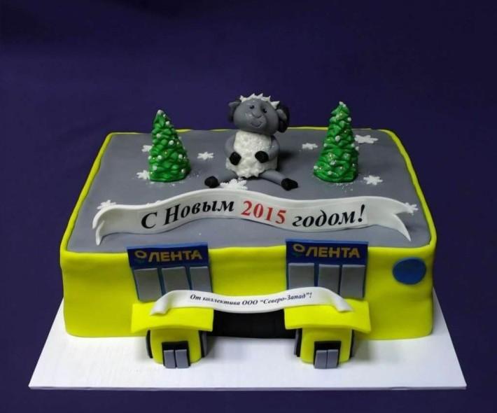 """Торт """"Гипермаркет Лента"""""""