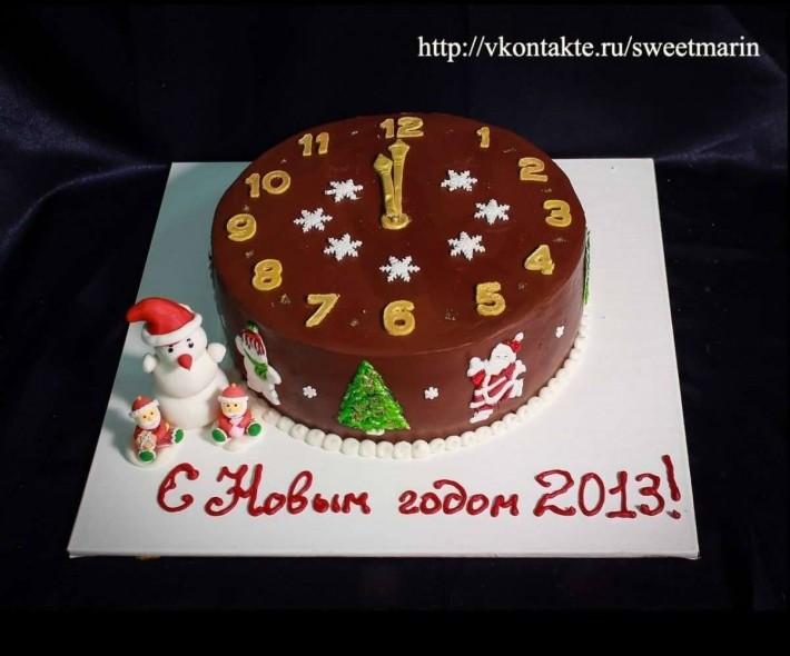 """Торт """"Шоколадный Новый год"""""""