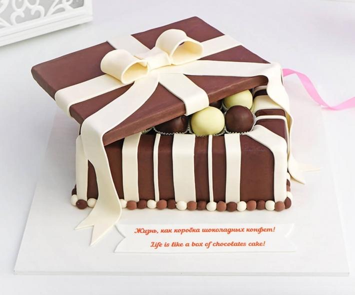 Торт Коробка шоколадных конфет