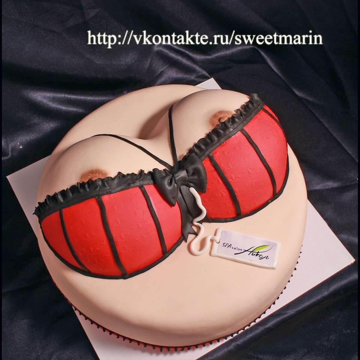 """Торт """"Для магазина белья"""""""