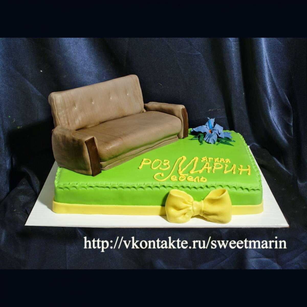 """Торт """"Первый диван"""""""