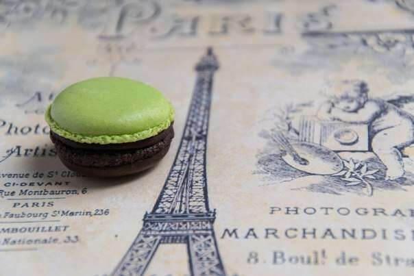 Macaroon Шоколад с мятой