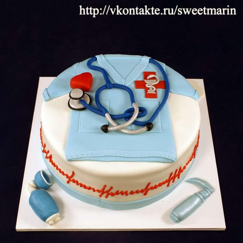 "Торт ""Врачу-кардиологу"""