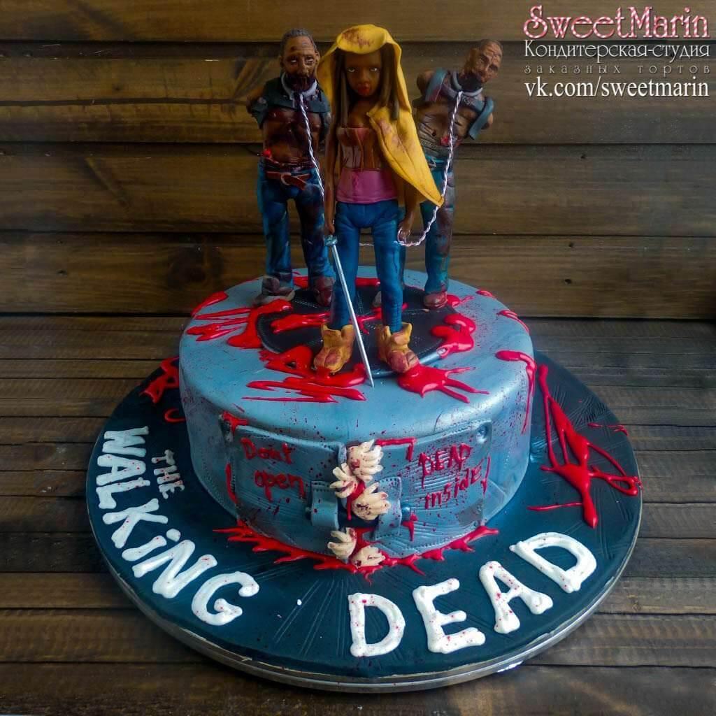 """Торт """"Ходячие мертвецы"""