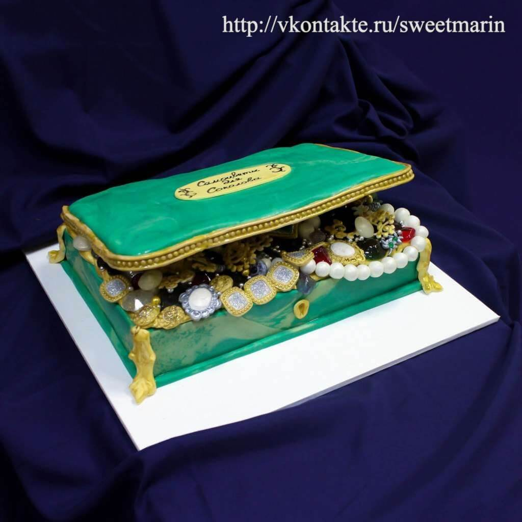"Торт для ювелира ""Шкатулка"""