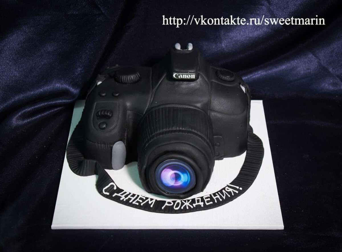 "Торт для фотографа ""Фотоаппарат"""