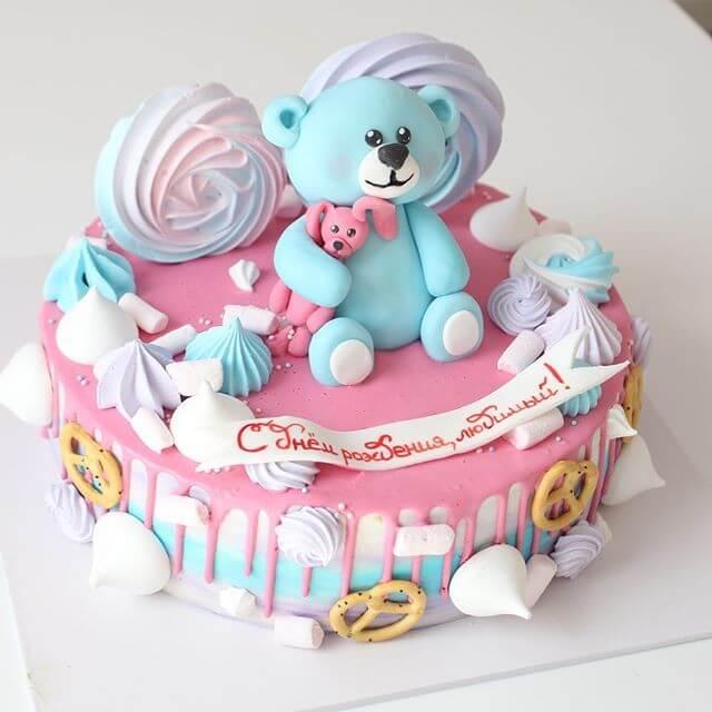 """Торт """"С мишкой"""""""