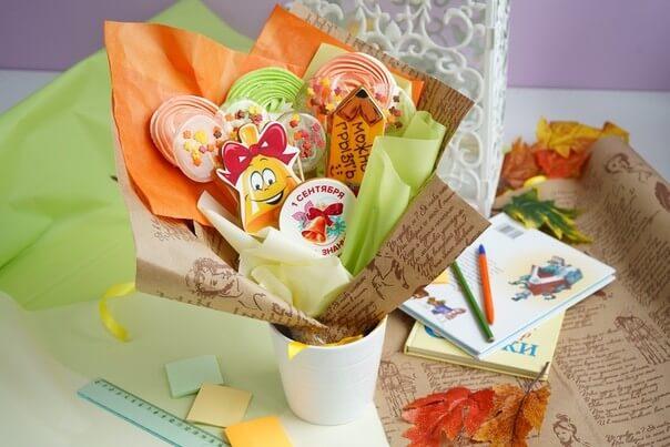 Букет из пряников на 1 сентября купить спб, цветы нижнем новгороде
